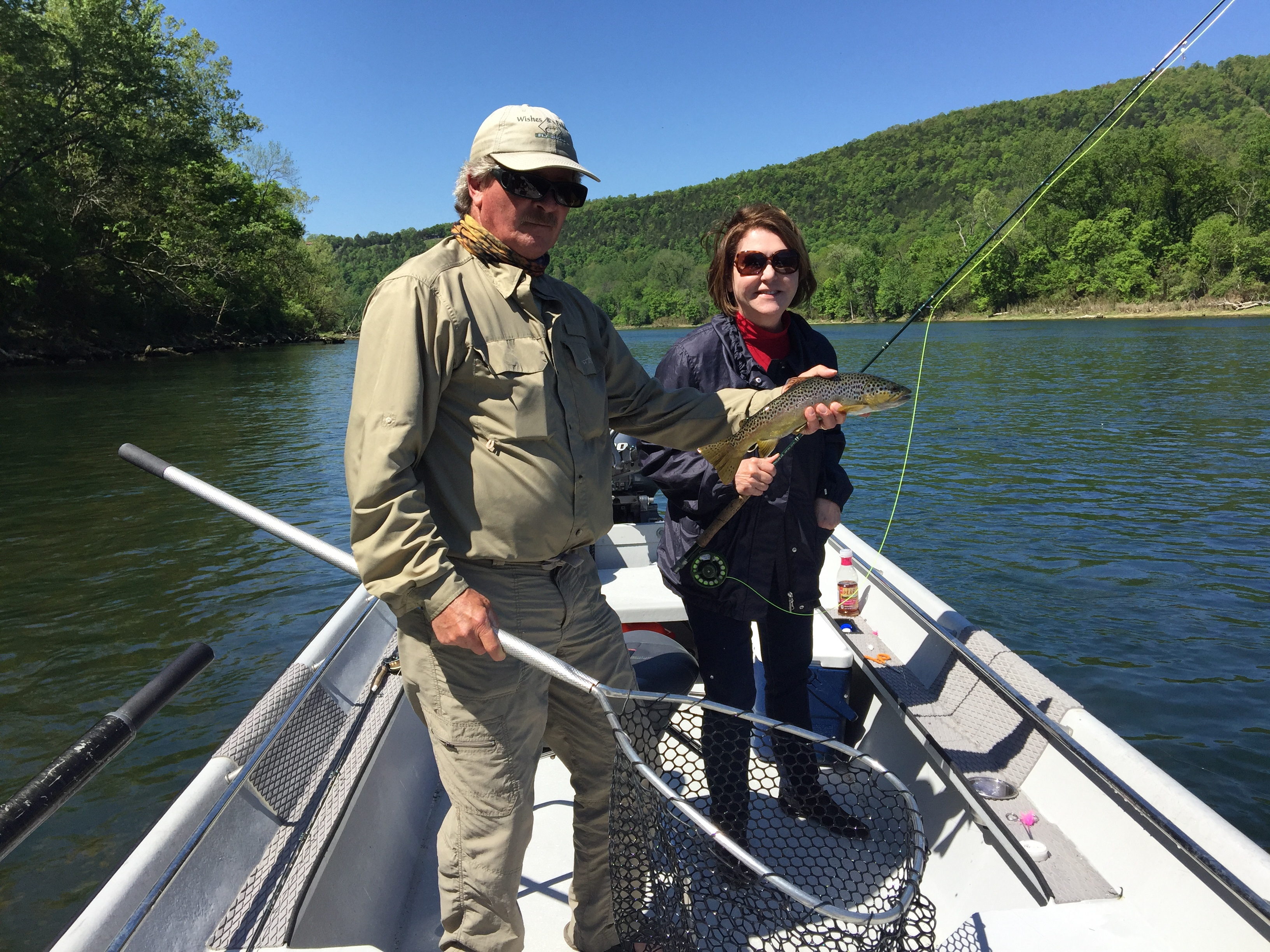 Fly fishing on the white river in arkansas not just for for White river fishing