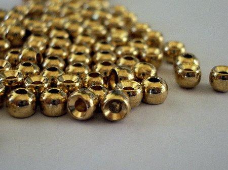 gold tungsten beads
